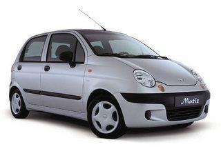 Кредитный калькулятор автомобилей Daewoo Matiz