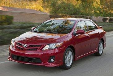 Калькулятор автокредита на покупку Toyota Corolla